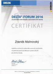 certifikat DELTA