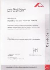 certifikat ROTO