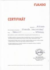 certifikat RUKKI